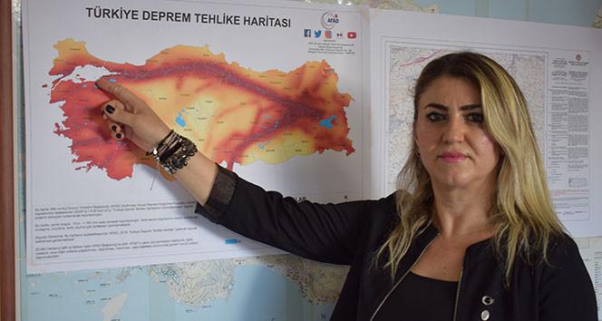 ''Marmara Depreminde büyüklük 7.6 olabilir''