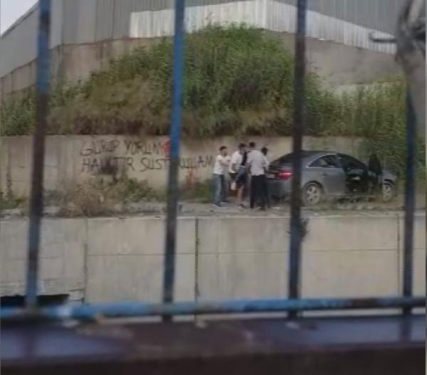İstanbul'un göbeğinde dehşete düşüren görüntüler