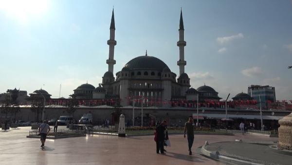 Taksim Camii'nde sona doğru; %80'i tamamlandı