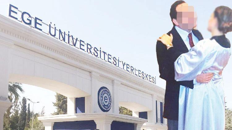 Ege Üniversitesi'nde skandal taciz iddiası!