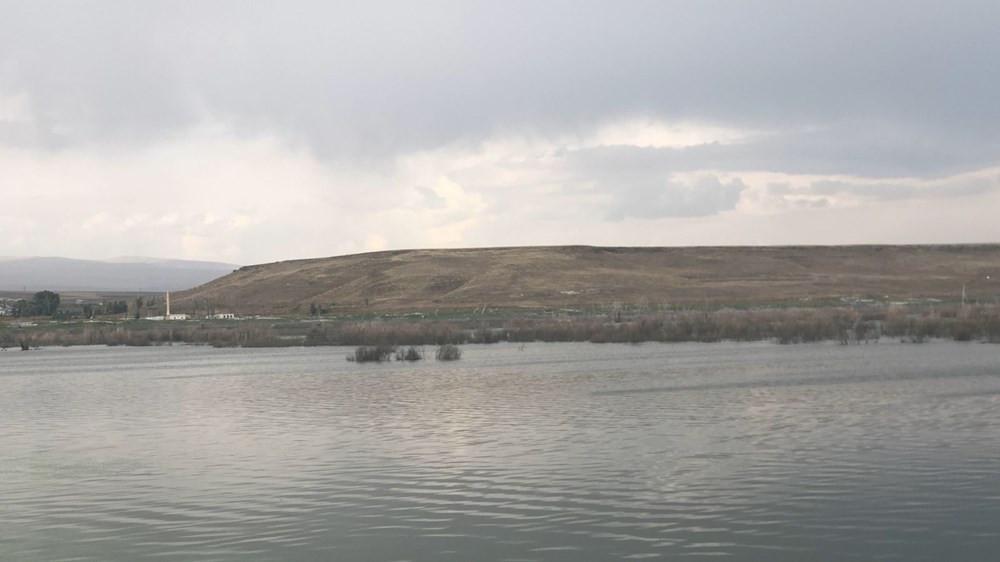 Baraj suları çekilince ortaya çıktı