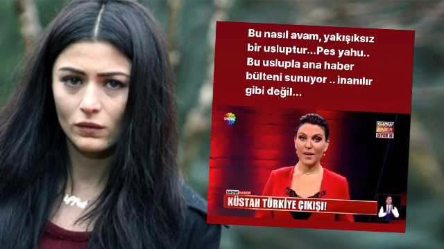 Deniz Çakır'dan Ece Üner'e Kim Kardashian tepkisi