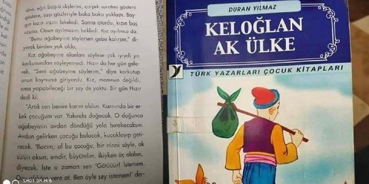 Skandal tecavüz anlatımının olduğu sözde çocuk kitabı için skandal karar
