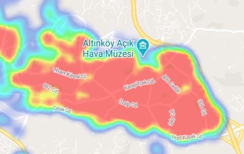 Covid-19'un da yeni başkenti Ankara'da ilçelerin risk haritaları