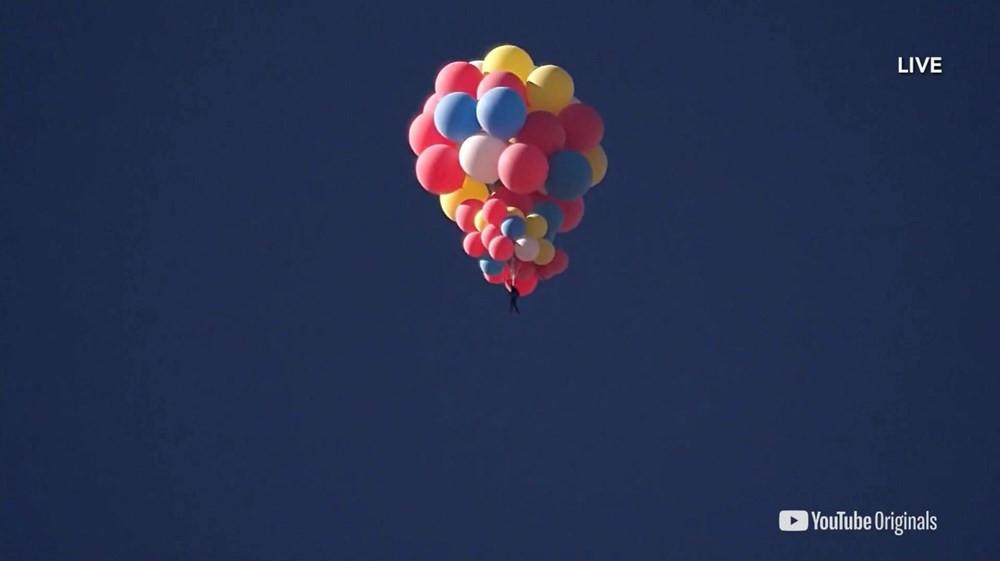 Nefes kesen deneme! Balonla 9 kilometre yükseldi - Resim: 1