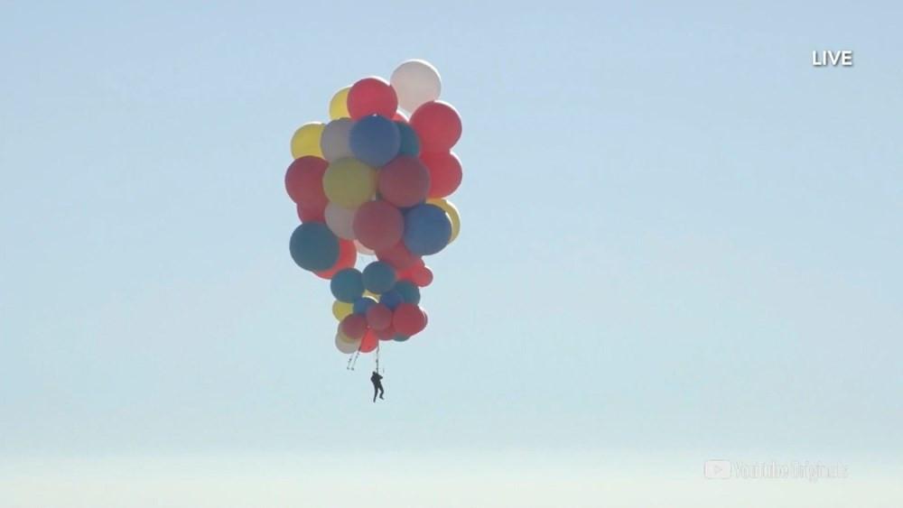 Nefes kesen deneme! Balonla 9 kilometre yükseldi - Resim: 3