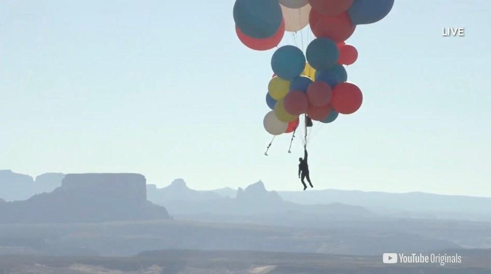 Nefes kesen deneme! Balonla 9 kilometre yükseldi - Resim: 4