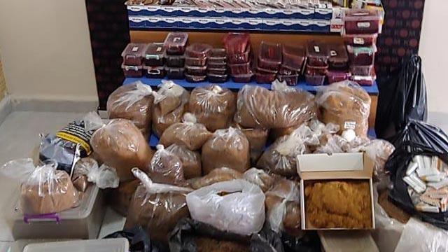 Edirne'de 107 kilogram kaçak tütün ele geçirildi!