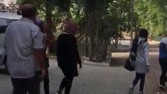 Bir binaya hırsızlık için giren 3 kadın yakalandı