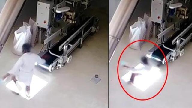 Mersin'de korkunç olay! Paketleme bandından düşerek öldü!