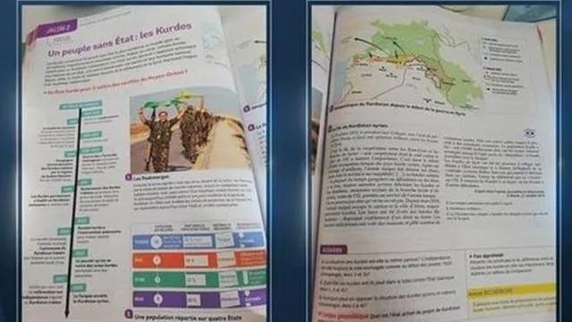 Eğitim kitabında terör örgütü YPG/PKK propagandası yapıldı