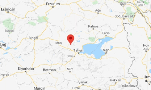 Muş'ta 4,1 büyüklüğünde deprem