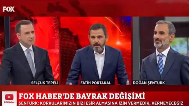 Fatih Portakal son kez FOX TV'deydi... Böyle veda etti!