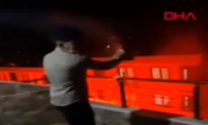 Yılbaşı gecesi İstanbul'da faciadan dönüldü