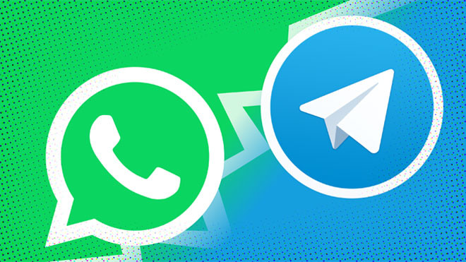 Telegram'dan WhatsApp'a tabutlu gönderme!