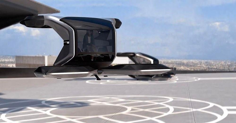 Cadillac'ın uçan arabası görücüye çıktı
