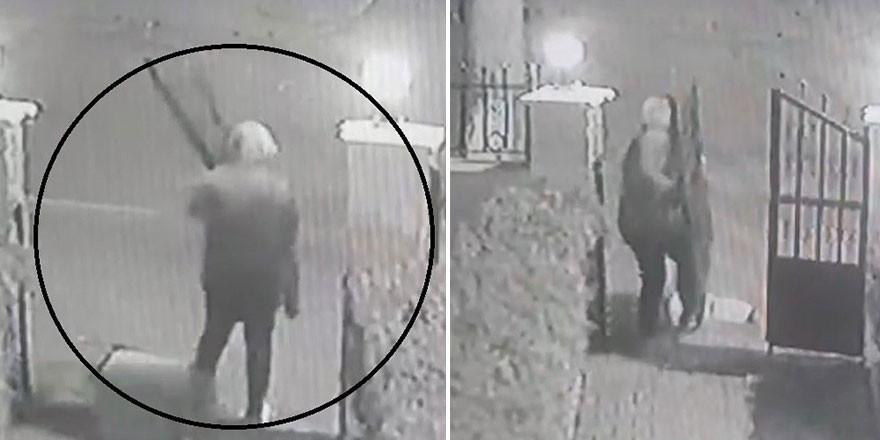 İstanbul'da akılalmaz hırsızlık kamerada