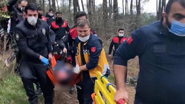 Ormanda yaralı bulunan polis memurundan acı haber