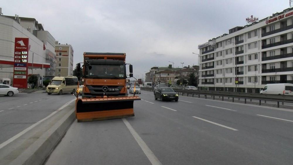 İstanbul'da kar kapıda! Ekipler harekete geçti