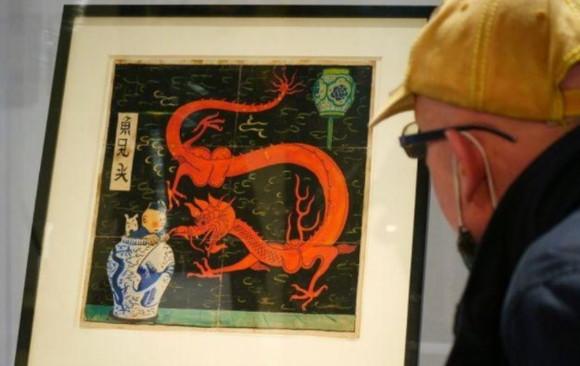 Herge'ün Tenten çizimi, 2,6 milyon euro'luk rekor fiyata satıldı