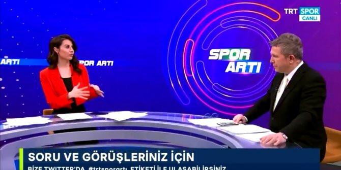 TRT spikerinden canlı yayında güldüren Mesut Özil sorusu