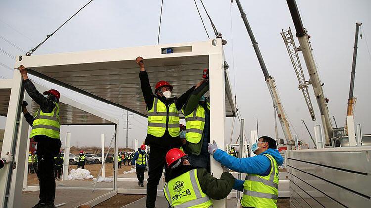 Çin'de yeni dalga paniği: Karantina merkezi inşa ediliyor - Resim: 2