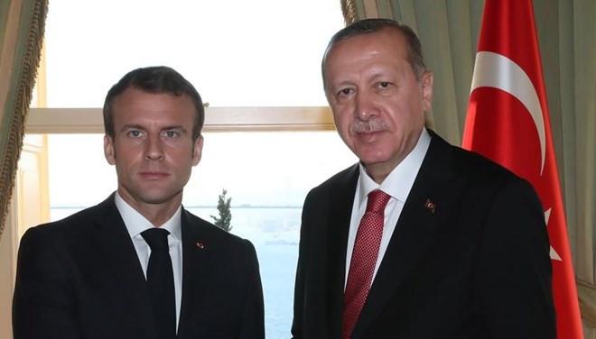 Macron, Erdoğan'a mektup gönderdi