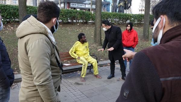 Gezi Parkı'nda titrerken bulundu, yardımı kabul etmedi