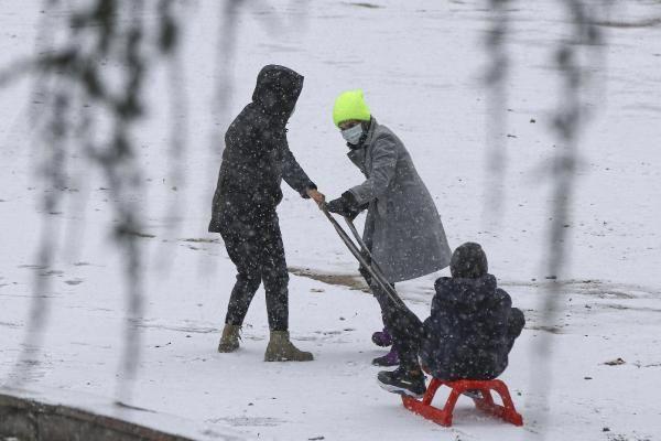 Ankara'da çocukların kar keyfi - Resim: 2