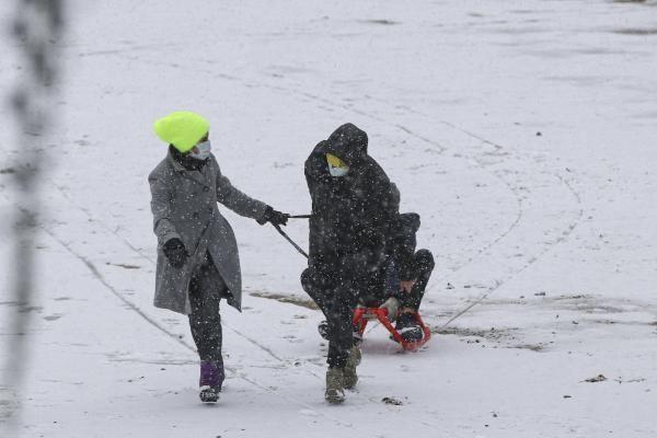 Ankara'da çocukların kar keyfi - Resim: 3