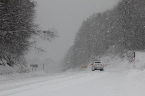 Domaniç'te kar yağışı ulaşımı aksattı - Resim: 4