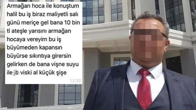 Devlet hastanesinde rüşvet skandalı: Viski, vişne, 10 bin TL istedi