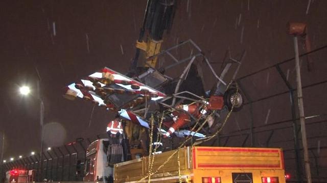 Haliç Köprüsü'nde kaza: 2 ölü