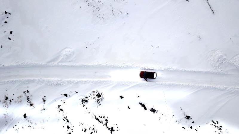 Doğu Anadolu Bölgesi'nde kar yağışı etkili oldu - Resim: 4