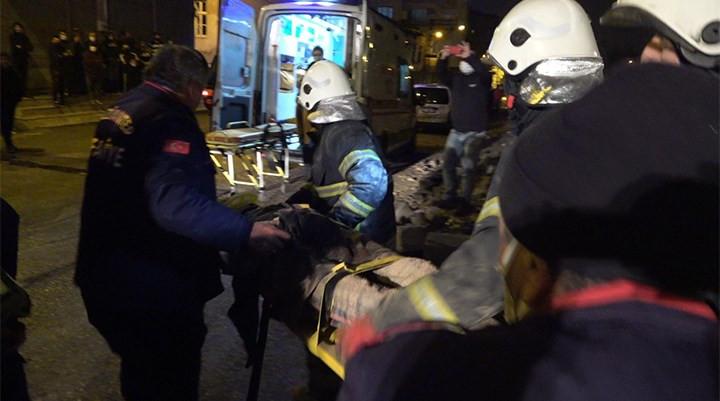 Gaziantep'te bina çöktü! Anne öldü, çocuklar yaralandı