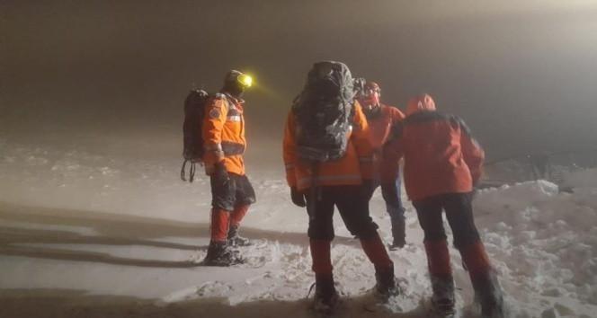 Bursa'da 8 kar kampçısından haber alınamıyor