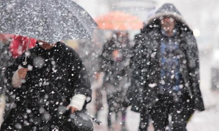 Sokaklar beyaz örtüyle kaplanınca... 5 ilde kar tatili kararı!