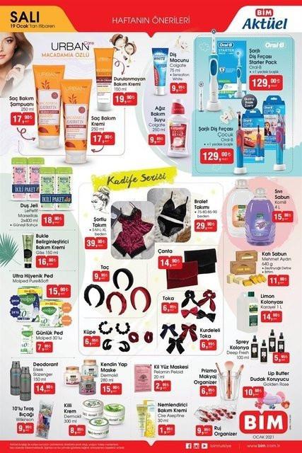19-20 Ocak BİM aktüel ürünler kataloğu - Resim: 3