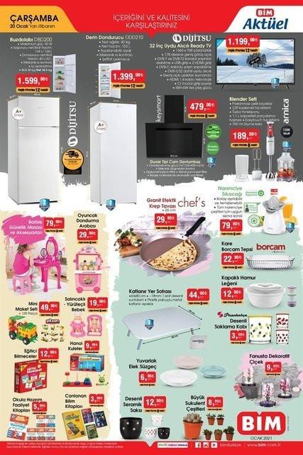 19-20 Ocak BİM aktüel ürünler kataloğu - Resim: 4