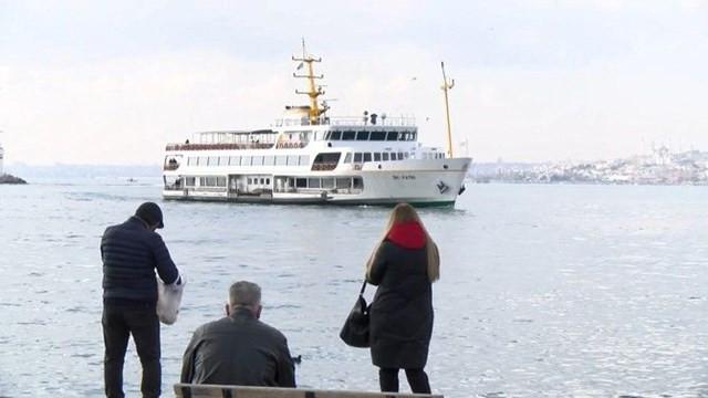 Kadıköy-Adalar vapurunda intihar girişimi