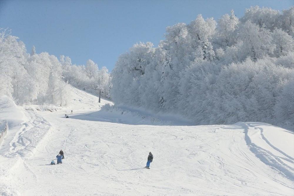 Kartepe'de kayak sezonu açıldı - Resim: 1