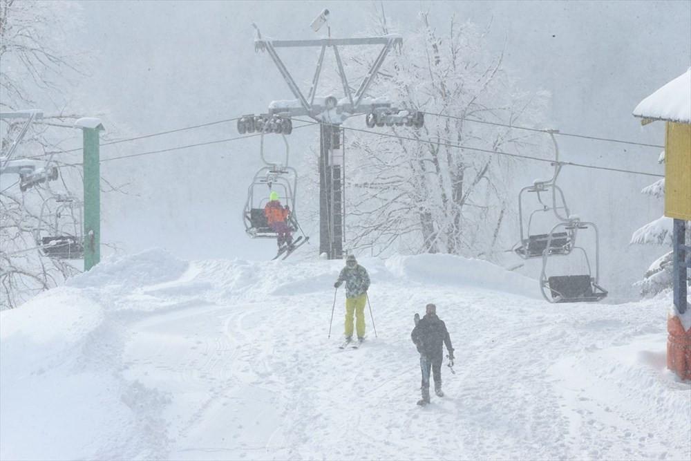 Kartepe'de kayak sezonu açıldı - Resim: 3