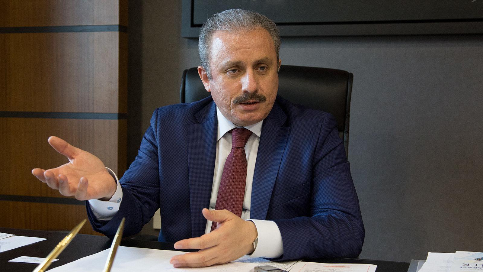 TBMM Başkanı Şentop'tan tartışma çıkaracak devlet üniversitesi açıklaması