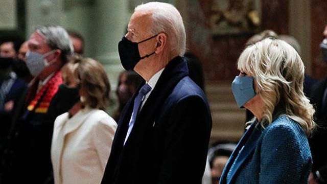 Joe Biden, kilise geleneğini bozmadı