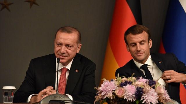 Cumhurbaşkanı Erdoğan'ın Macron'a yazdığı mektup sızdırıldı