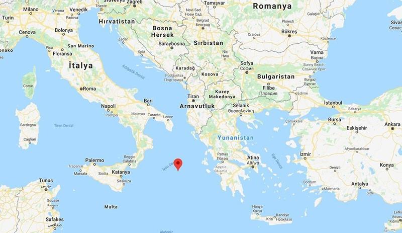 Yunanistan kara sularını 12 mile çıkardı