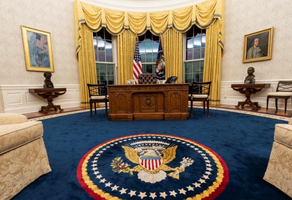 Biden'ın göreve gelmesi sonrası Oval Ofis'te dikkat çeken değişiklik - Resim: 4