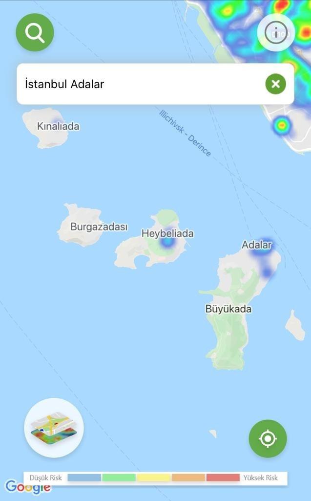 İşte ilçe ilçe İstanbul'un yeni koronavirüs haritası - Resim: 1