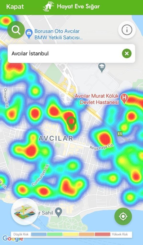 İşte ilçe ilçe İstanbul'un yeni koronavirüs haritası - Resim: 4