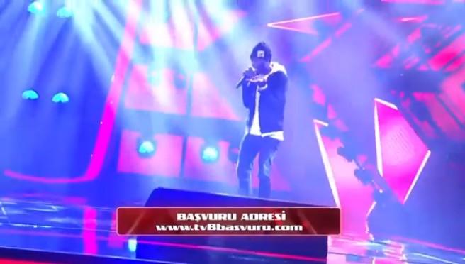 O Ses Türkiye Rap yarışmasından ilk tanıtım